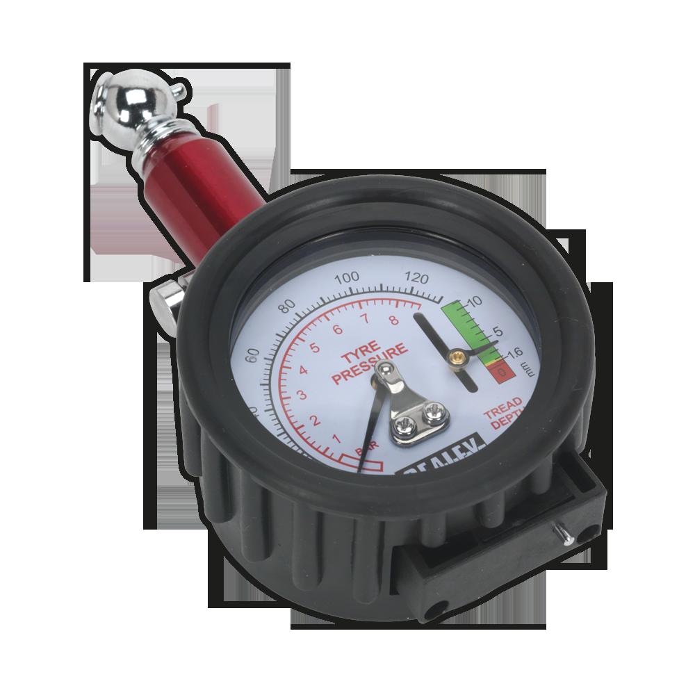 Aparat de verificat presiunea in pneuri