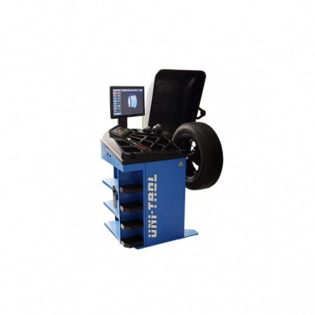 Masina de echilibrat roti cu laser si monitor LCD