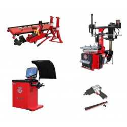 Kit automat pentru schimbarea anvelopelor