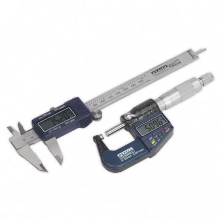 Set subler + micrometru digitale