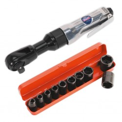 Set cheie pneumatica cu clichet / chei tubulare de impact
