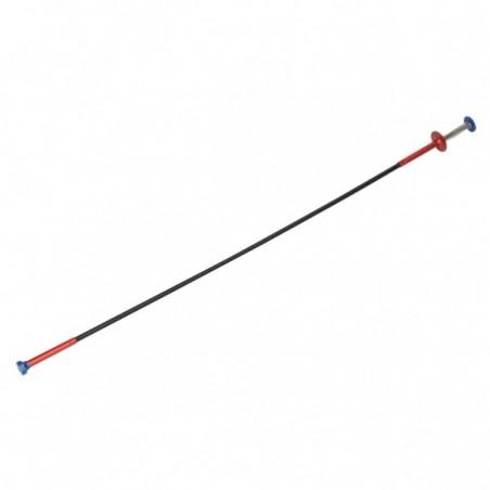 Recuperator magnetic flexibil cu gheare de agatare