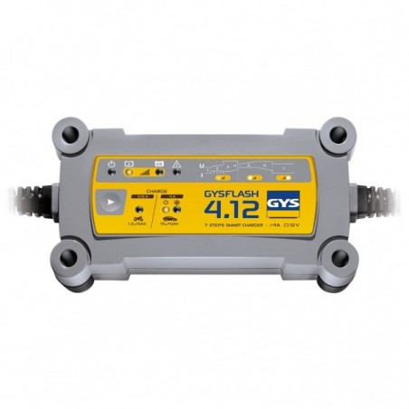 Incarcator baterii auto GysFlash 4.12