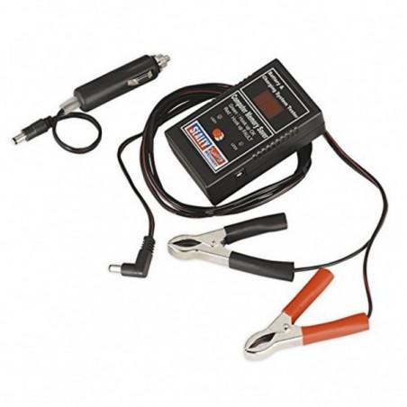 Tester baterii cu memorie