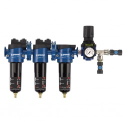 Ansamblu filtre sub-micronice pentru pistoale de vopsit