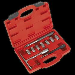 Trusa de scule pentru curatat orificii injectoare Diesel