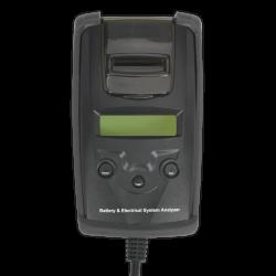 Tester digital pentru baterie si alternator cu imprimanta