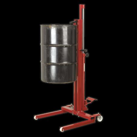 Carucior hidraulic pentru transport butoaie