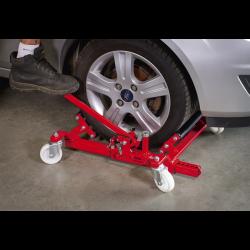 Dispozitiv pentru transportul masinilor avariate