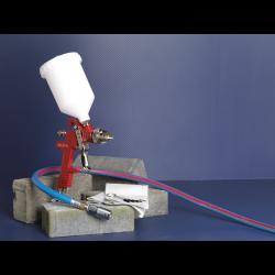 Pistol de vopsit cu rezervor gravitational si duza 1.3mm
