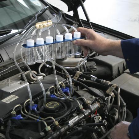 Tester verificare retur injectoare sistem injectie Diesel