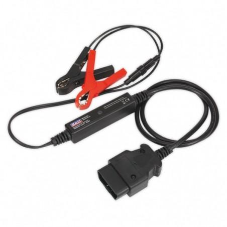 Cablu de alimentare cu indicator pentru puterea bateriei