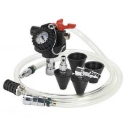 Dispozitiv pentru umplerea circuitului de racire