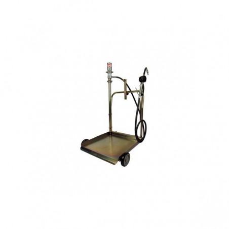 Dipozitiv pneumatic de introdus ulei
